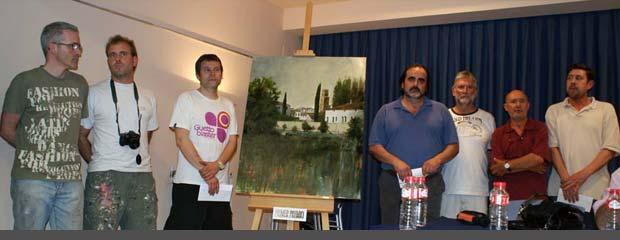 concurso de pintura rápida de Monteagudo