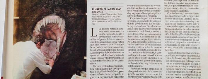 """Exposición """" el Jardín de las Delicias"""" Galería ORMOLÚ"""